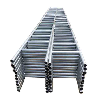 Scaffolding External Galvanized Black Girder Steel Ladder Beam