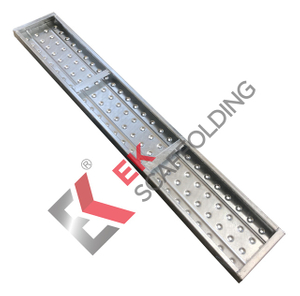 BS EN 12811-1 Scaffolding Walk Boards Hot Dip Galvanized Steel Plank
