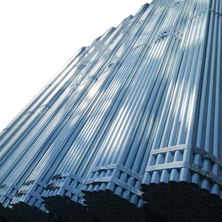 Q235 Q345 Welded Pipe Scaffolding Steel Galvanized Tube