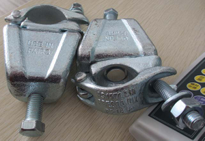 Drop Forged Heavy Duty Swivel Girder Coupler