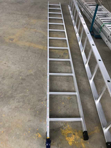 Scaffold 4m Aluminium Scaffolding Straight Ladder
