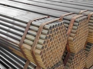 Galvanized EN39 Self Black Scaffolding Pipe