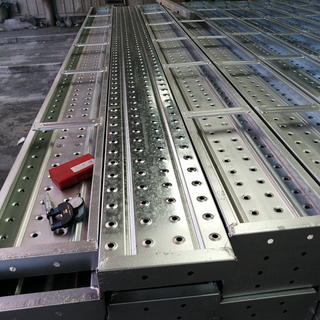 Galvanized Steel Scaffolding Walk Boards for System