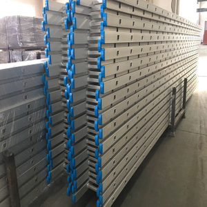 4M Scaffolding Aluminium Straight Ladder With Rubber Foot