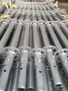 Hot Dip Galvanized HDG Ringlock Scaffolding Standard