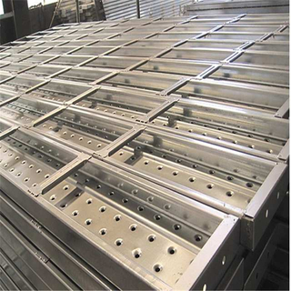 240*45mm Galvanized Steel Plank for Construction BS1139