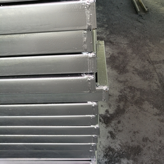 Galvanized Steel Scaffolding Walk Boards Fulfull Weld