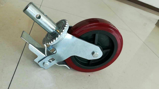 China Duty Scaffolding Accessories Caster Wheel