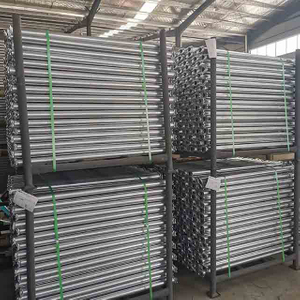 Galvanized Ledger Cuplock Scaffolding System for Building