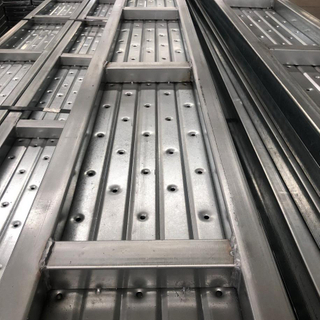 Closed Galvanized Steel Scaffolding Walk Boards