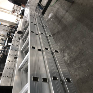 Construction Building 4M Aluminum Scaffolding Straight Ladder
