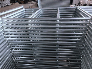 Hot Dip Galvanized HDG Pin Lock Frame Scaffolding